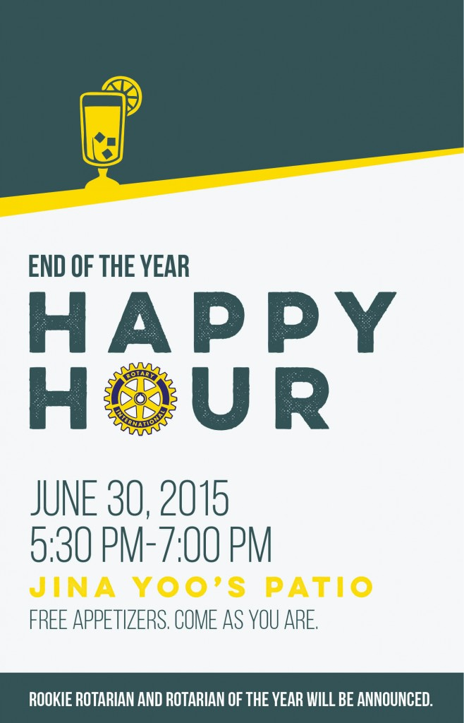Rotary End of Year Flyer